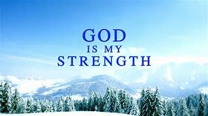 Gods strength
